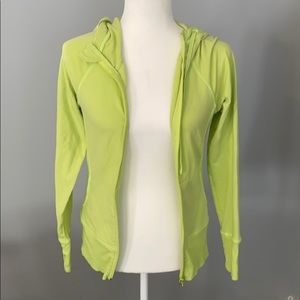 Z by Zelda Lime Green Full Zip Hoodie Size XS
